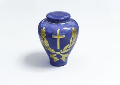 Керамична Венец с кръст