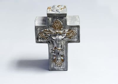 Керамична Прима кръст сива